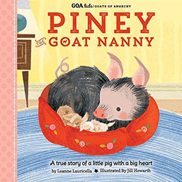Piney The Goat Nanny